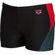arena Hypnos Shorts Men black-shadow grey-red